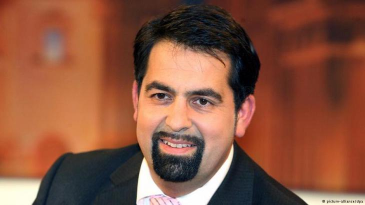 Der Vorsitzende des Zentralrats der Muslime, Aiman Mazyek; Foto: dpa/picture-alliance
