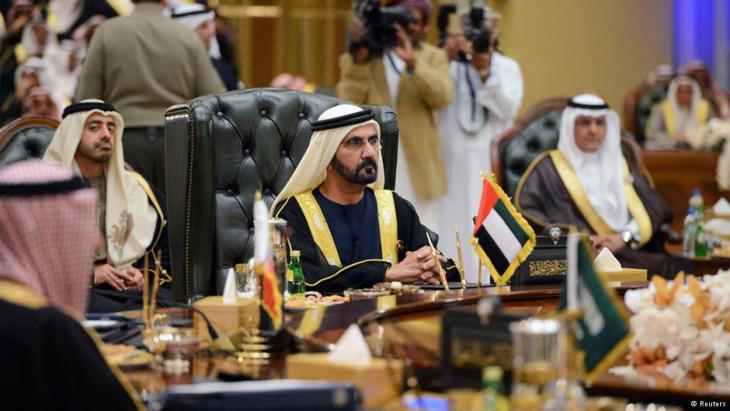 Sitzung des Golfkooperationsrats; Foto: Reuters