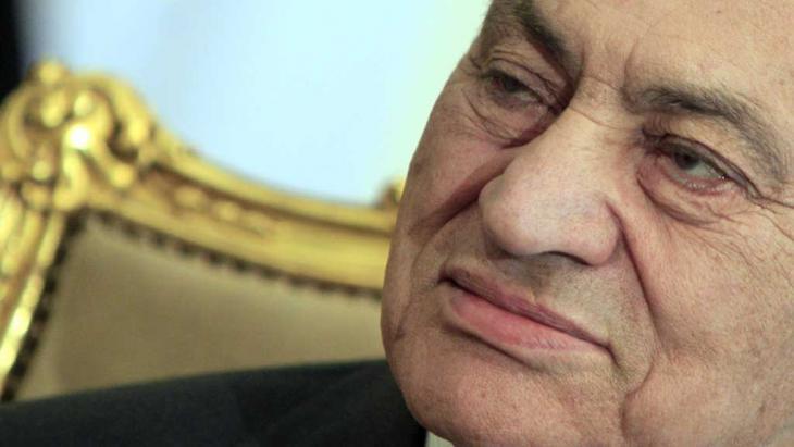 Der frühere ägyptische Präsident Hosni Mubarak; Foto: AP