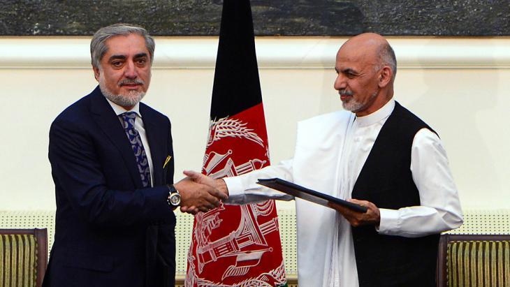 Einigung über Einheitsregierung in Afghanistan unterzeichnet; Foto: AFP/Getty Images
