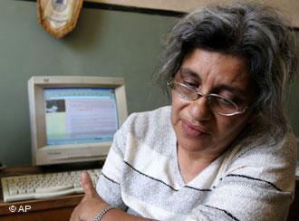 Leila Soueif, Ehefrau von Ahmed Seif al-Islam; Foto: AP