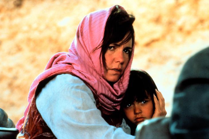 """Filmszene aus """"Nicht ohne meine Tochter"""" mit Sally Field"""