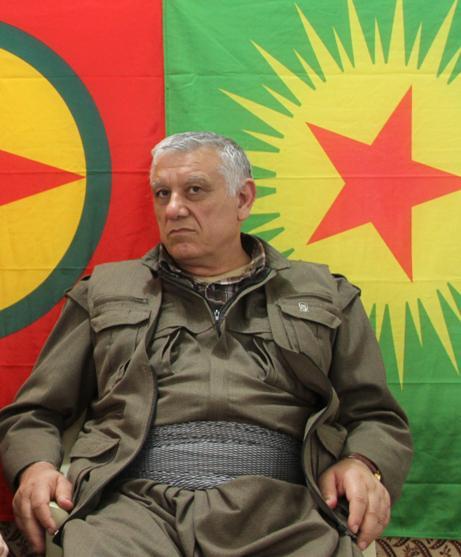 Der stellvertretende Vorsitzende der verbotenen Arbeiterpartei Kurdistans (PKK), Cemil Bayık; Foto: Ekrem Güzeldere