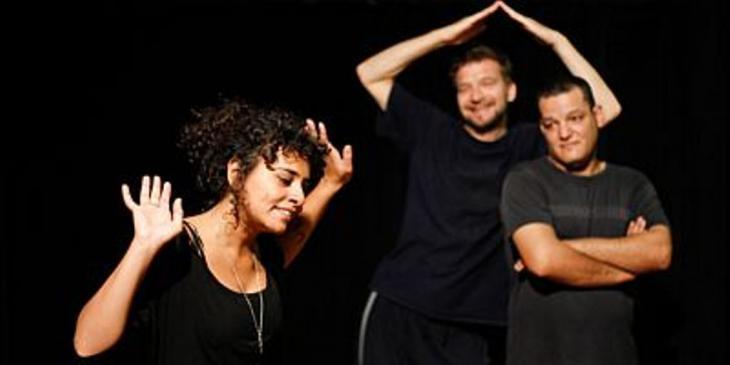 Tänzer bei den Proben im Studio Emad Eddin; Foto: Mostafa Abdel Aty
