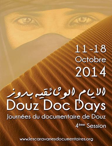 "Plakat Dokumentarfilmfestival ""Douz Doc Days"""