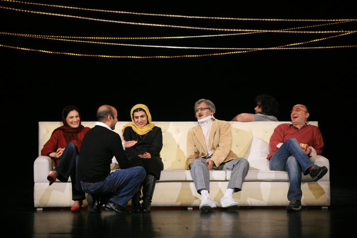 Iwanow-Aufführung in Teheran; Foto: Mani Lotfizadeh