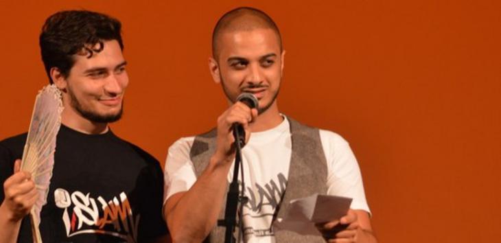 """Poetry-Slam-Projekt """"A'slama"""" in Tunis, Foto: ifa"""