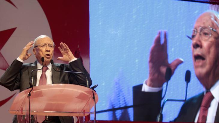 Beji Caid Essebsi; Foto: Reuters/Z. Souissi