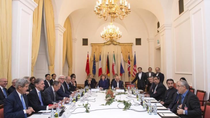 Atomverhandlungen in Wien; Foto: AP