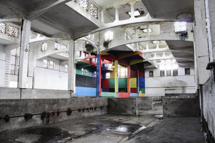 "Kulturfabrik ""Les Abattoir"" in Casablanca; Foto: © Aïcha El Beloui"