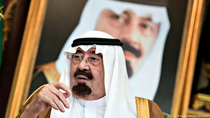 Saudischer König Abdullah Aziz al-Saud, Foto: Reuters
