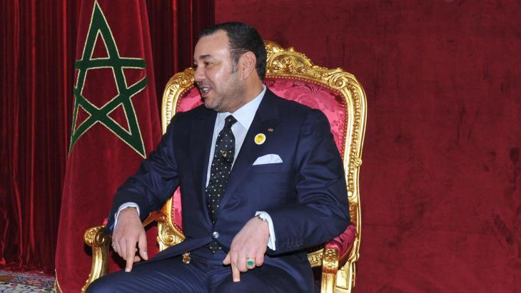 Marokkos König Mohammed VI.; Foto: AP
