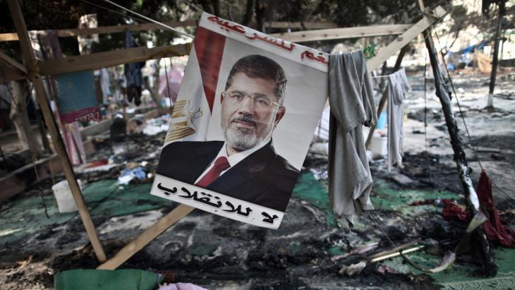Der Rabia-al-Adawiya-Platz in Kairo, das Protestcamp der Muslimbrüder, nach der Erstürmung, Foto: Mahmoud Khaled/AFP/Getty Images