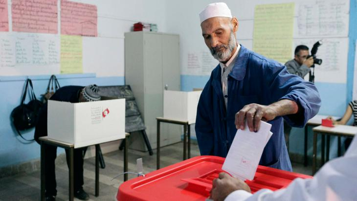 Parlamentswahl in Tunesien am 26.10.2014; Foto: Reuters