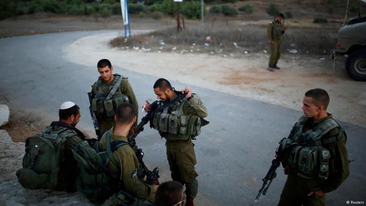 Israelische Soldaten im Gazastreifen. Foto. Reuters