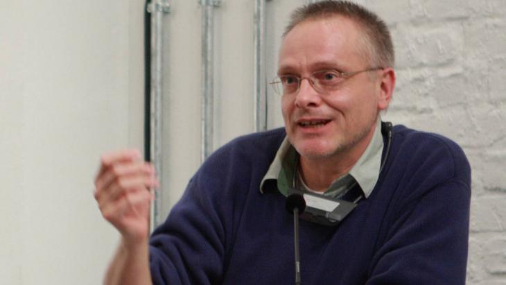 Der Schriftsteller Michael Roes. Foto imago: stock und people