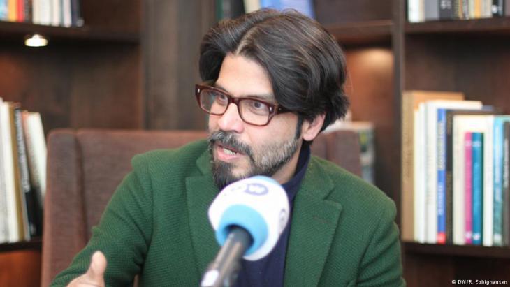 Der indische Autor Pankaj Mishra. Foto DW