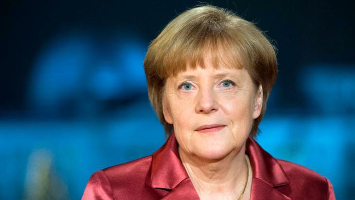 Bundeskanzlerin Angela Merkel; Foto. Reuters/Maurizio Gambarini/Pool