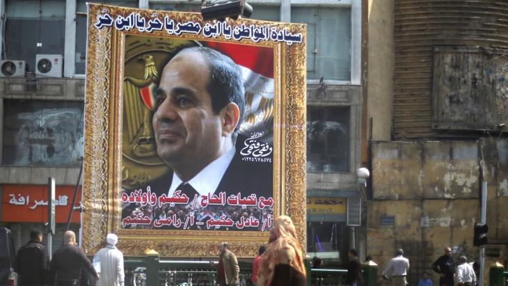 Personenkult um Al Sisi foto Reuters
