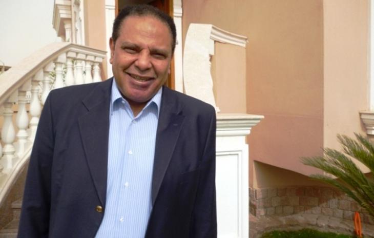 Der ägyptische Schriftsteller Ala al-Aswani; Foto: Arian Fariborz