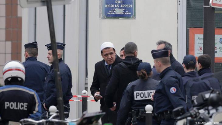 Imam Hassen Chalghoumi, Imam in Seine-Saint-Denis; Foto: Reuters