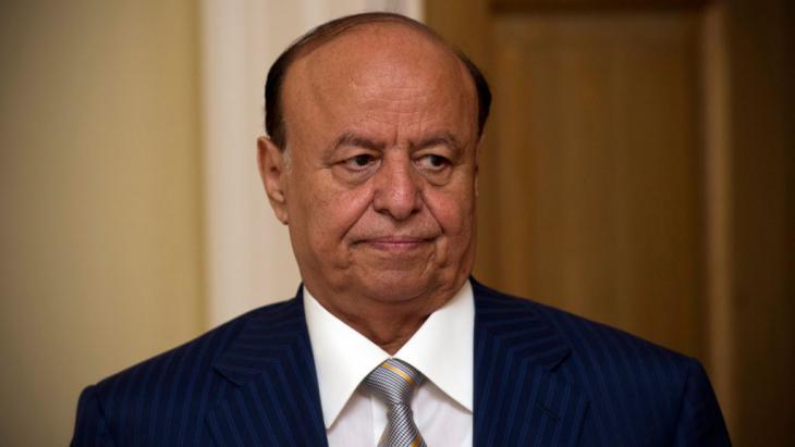Jemens PräsidentPräsident Abd Rabbo Mansour Hadi; Foto: picture-alliance/C. Court