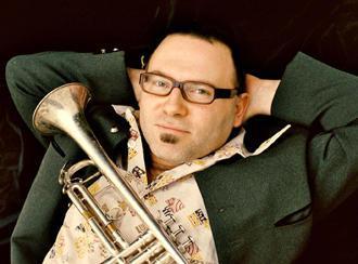 Der Trompeter Udo Moll von der Schäl Sick Brassband aus Köln, Foto: privat