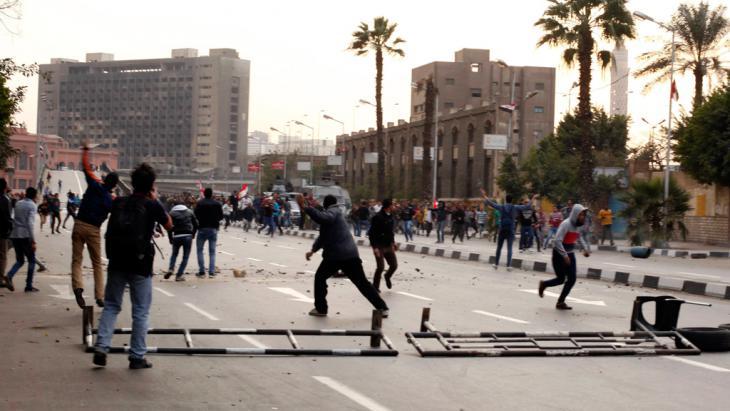 Proteste auf dem Tahir-Platz in Kairo 25.1.2015; Foto: Reuters/Waguih