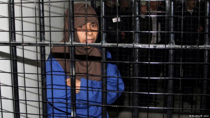 Dschihadistin Sadschida al-Rischawi; Foto: Reuters/M. Jaber