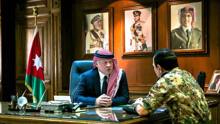 Jordaniens König Abdallah II.; Foto: picture-alliance/abaca/Balkis Press