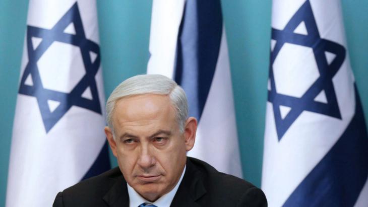 Israels Regierungschef Benjamin Netanjahu; Foto: picture-alliance/dpa/Abir Sultan