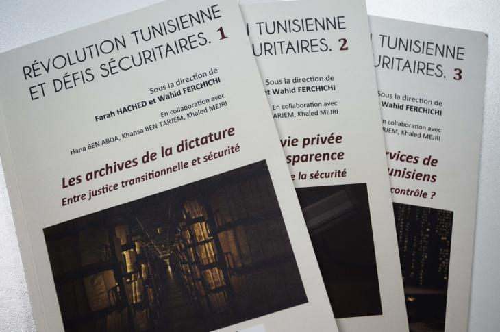 """Les Archives de la Dictature. Entre Justice transitionnelle et Sécurité""; Foto: Sarah Mersch"