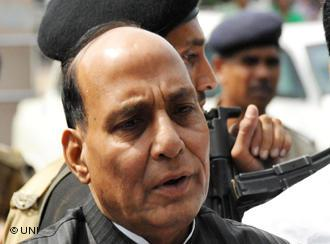 Indiens Innenminister Rajnath Singh; Foto: UNI