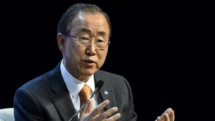 UN-Generalsekretär Ban Ki Moon; Foto: AFP/Getty Images/F. Coffrini