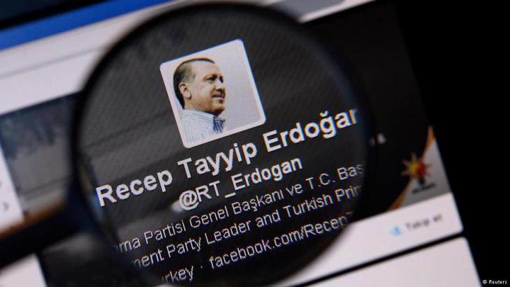 Im März 2014 ließ Präsident Erdogan Twitter sperren. Foto: Reuters