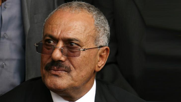 Jemens Ex-Präsident Ali Abdullah Salih; Foto: AFP/Getty Images/M. Huwais