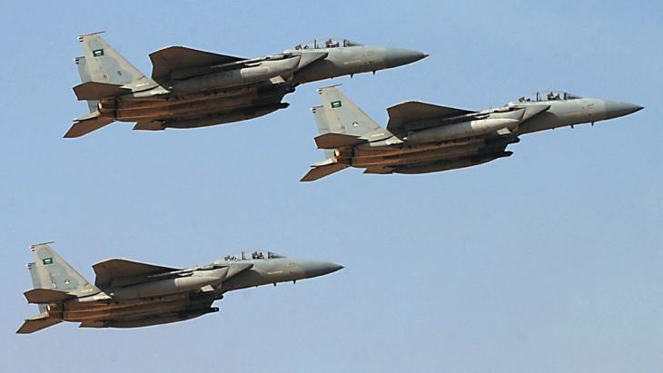 Saudische Kampfflugzeuge; Foto: AFP/Getty Images/F. Nureldine