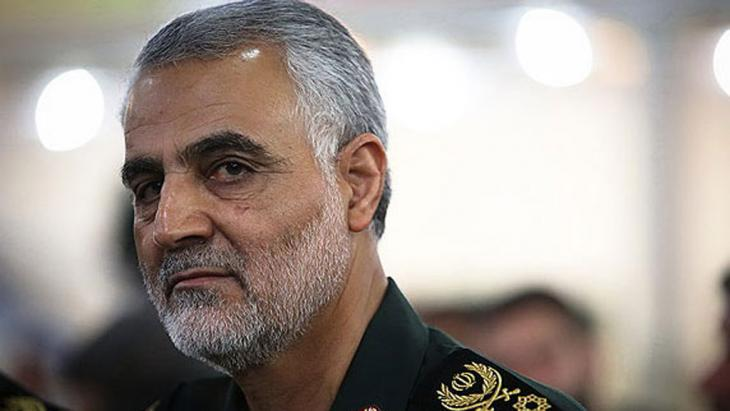 """Qassem Soleimani, Kommandeur der iranischen """"Al-Qods""""-Einheit; Foto: Mehr"""