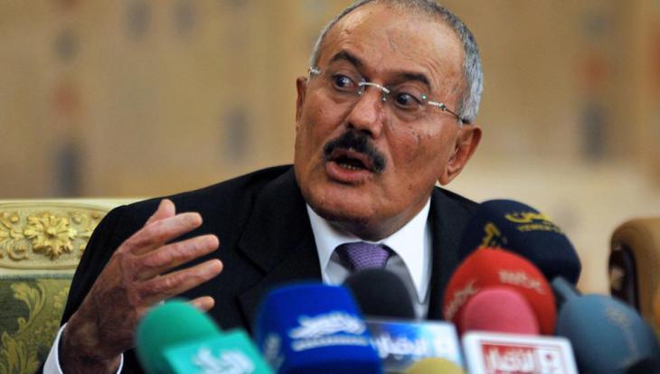 Jemens Ex-Präsident Ali Abdullah Salih; Foto: dpa