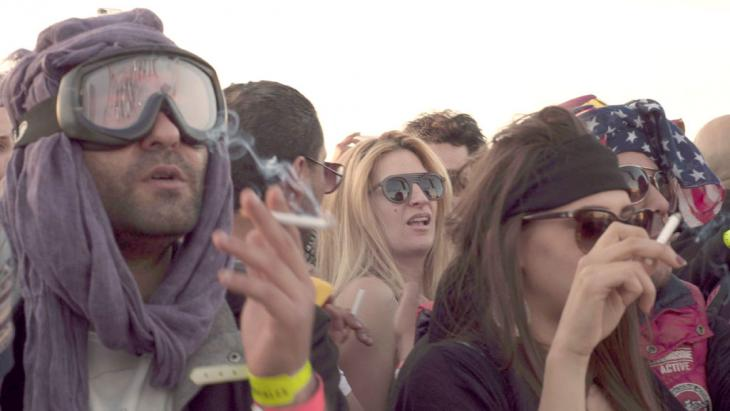 Festival Dunes Electroniques 2014 in Tunesien ; Foto: DW/S. Mersch