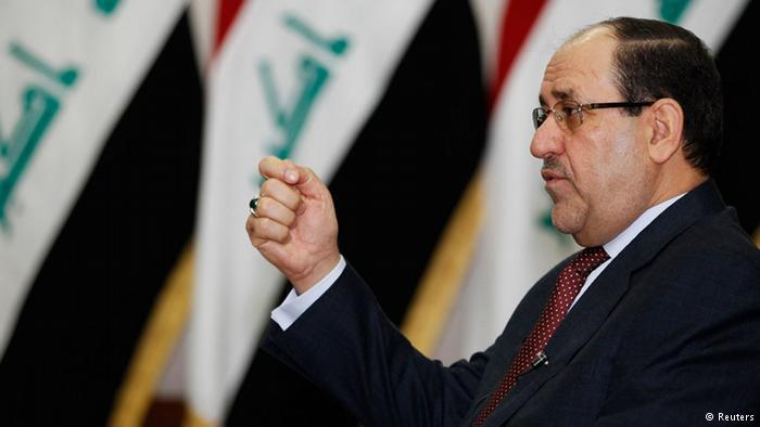Iraks ehemaliger Ministerpräsident Nuri al-Maliki; Foto: Reuters