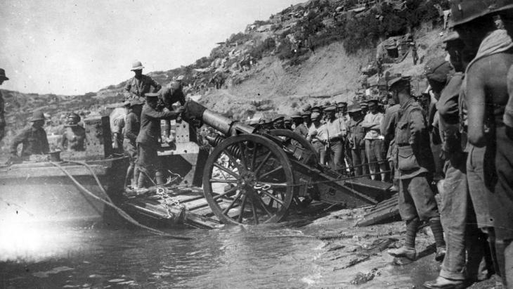 SChlacht von Gallipoli; Foto: Hulton Archive/Getty Images