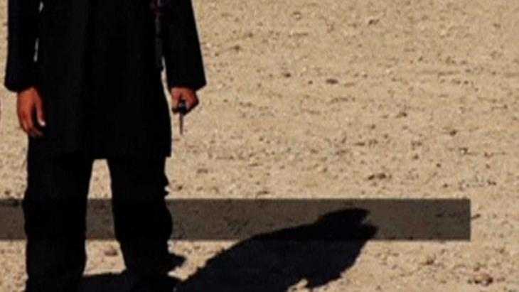 Videostill der Enthauptung von David Haines; Foto: Reuters