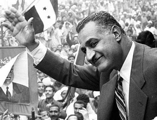 Gamal Abdel Nasser. Foto: wikipedia