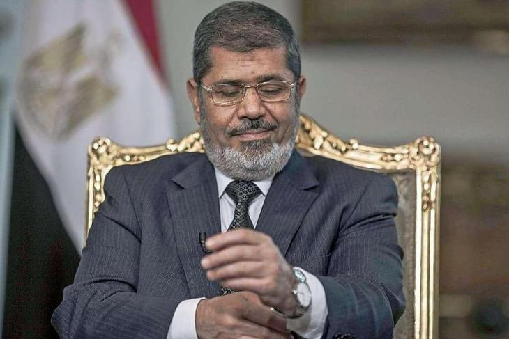 Ägyptens Ex-Präsident Mohamed Mursi; Foto: dpa