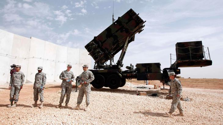Patriot-Raketenabwehrsystem im türkischen Gaziantep; Foto: Reuters/Osman Orsal