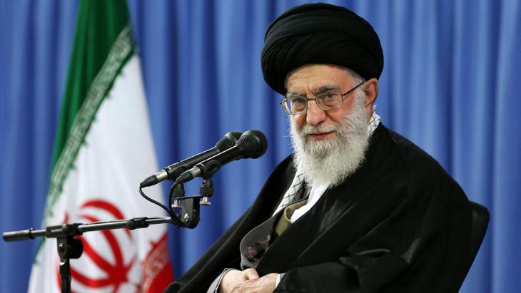 Irans Ajatollah Ali Khamenei; Foto: picture-alliance/dpa/Offical Supreme Leader Website