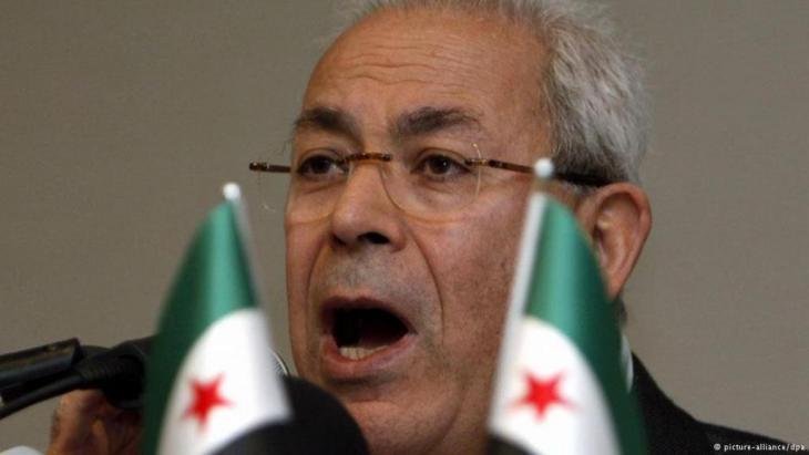 Der französisch-syrische Soziologieprofessor Burhan Ghalioun, Foto: dpa/picture-alliance