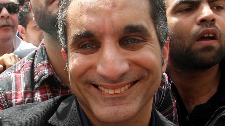 Der ägyptische Satiriker Bassem Youssef; Foto: dpa/picture-alliance