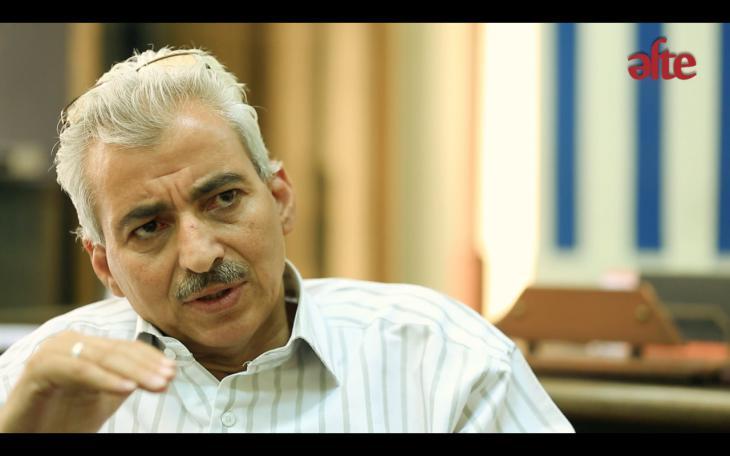 """Fathy Abdel Satar, Chef der """"Aufsicht über künstlerische Erzeugnisse"""" des ägyptischen Kultusministeriums"""